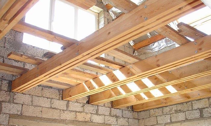 Перекрытия для деревянных домов