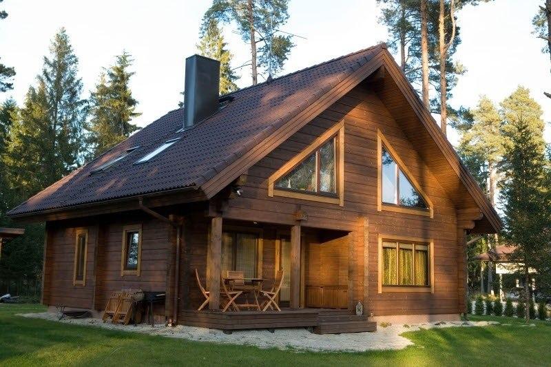 Строительство частных домов из экологически чистого бруса