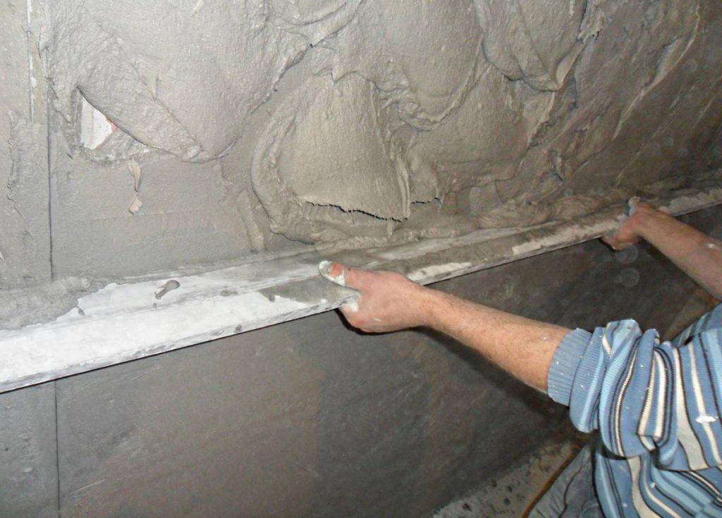 Инструкция по установке маяков для выполнения штукатурки стен