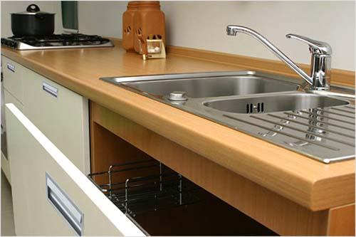 Установка кухонной мойки