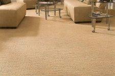 Особенности коврового напольного покрытия