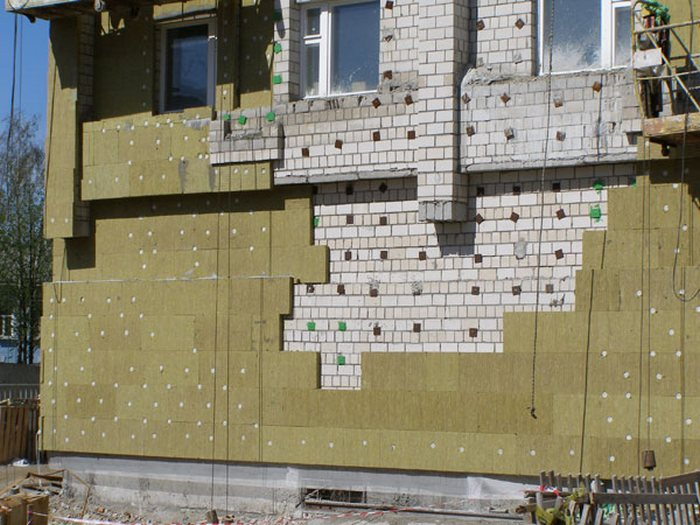 Отделка фасада частного дома пенопластом фото
