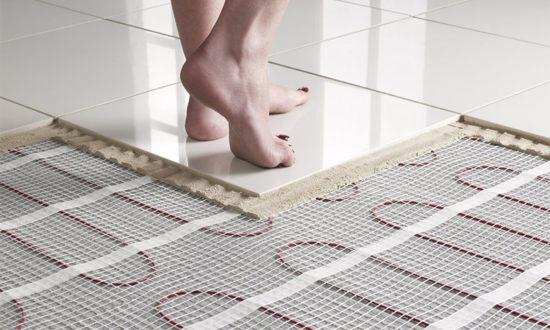 Электрические теплые полы под плитку