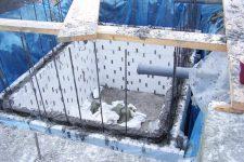 Строительство овощной ямы в гараже своими руками