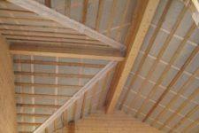 Пароизоляция потолка в частном доме