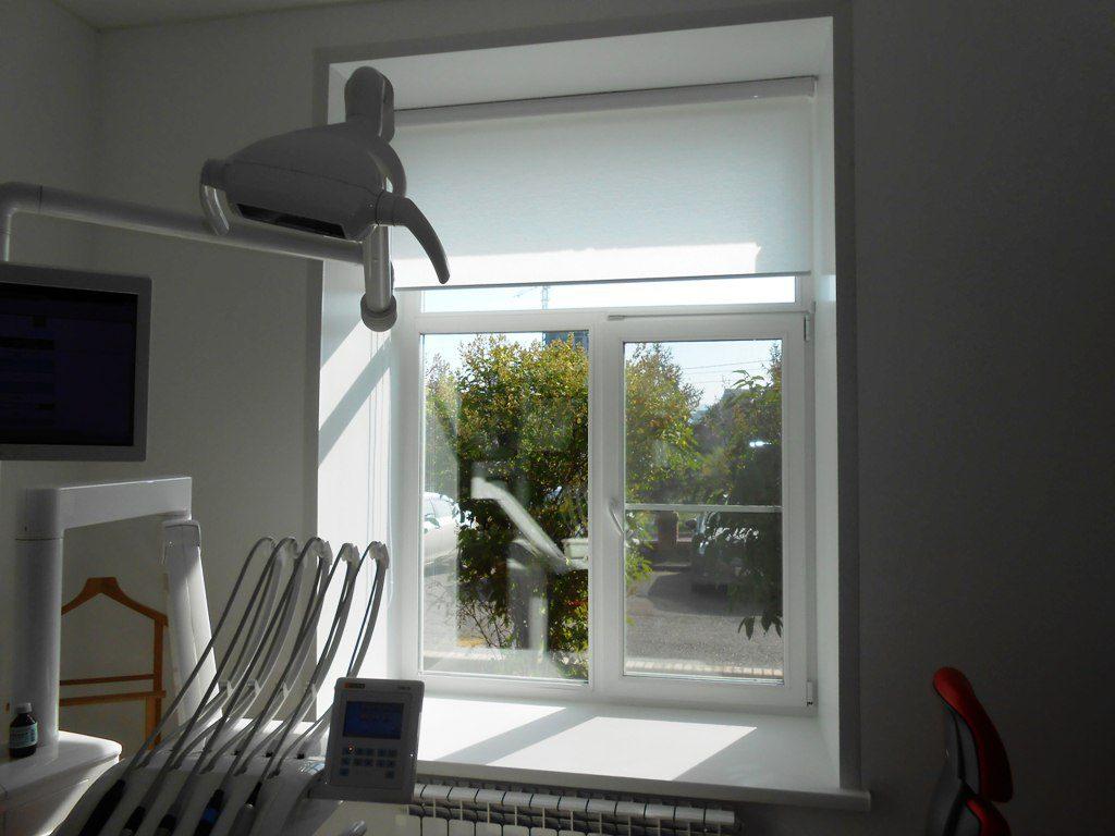 Окна без жалюзи