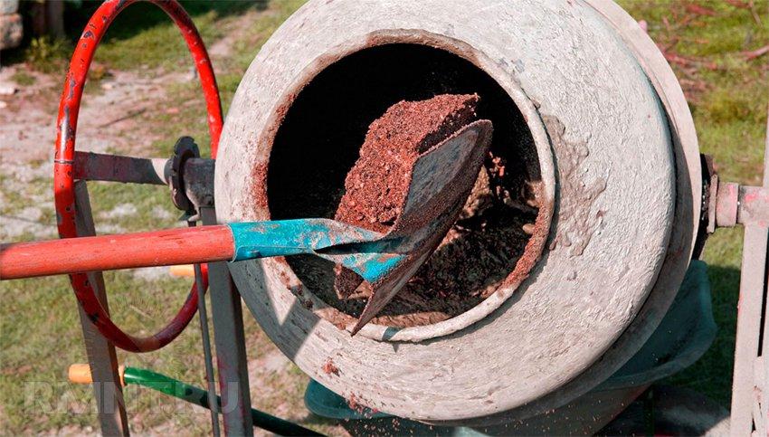 Самостоятельное изготовление бетона