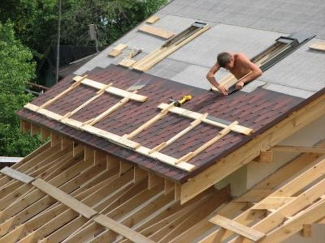 Конструкция крыши из мягкой черепицы
