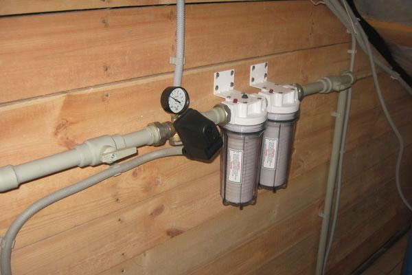 Насос для водопровода в частном доме