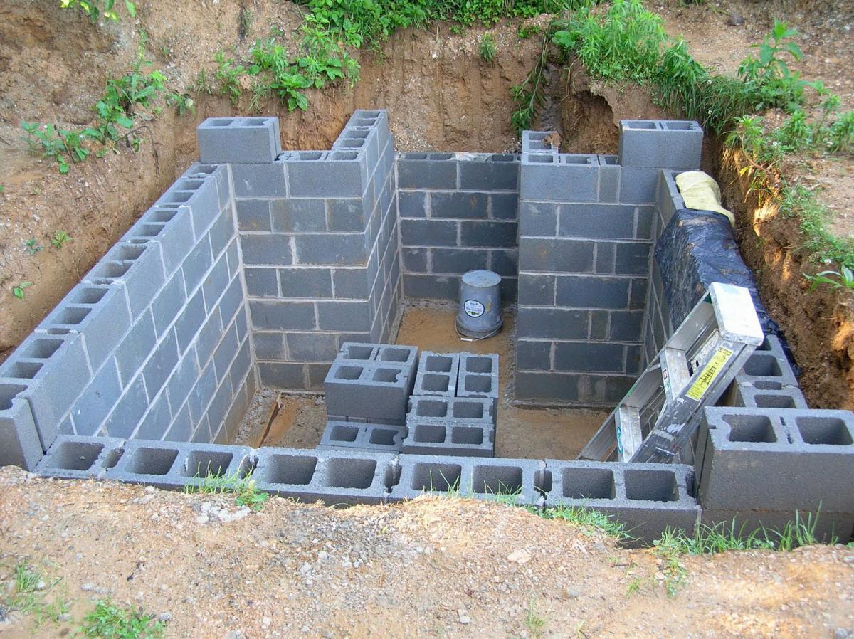 Погреб в частном доме своими руками дом построен
