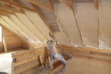 Как правильно утеплить крышу изнутри своими руками