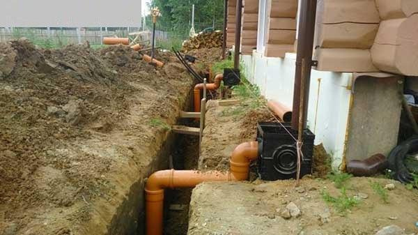 Как сделать ливневую канализацию