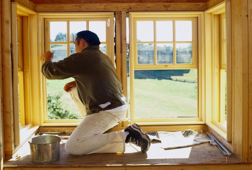 Ремонт и утепление старого деревянного окна.