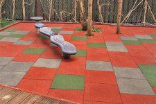 Свойства резиновой плитки и области ее применения