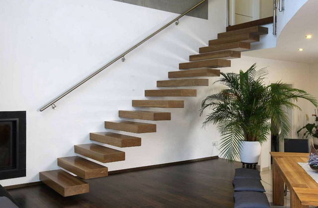 Конструктивные особенности консульной лестницы