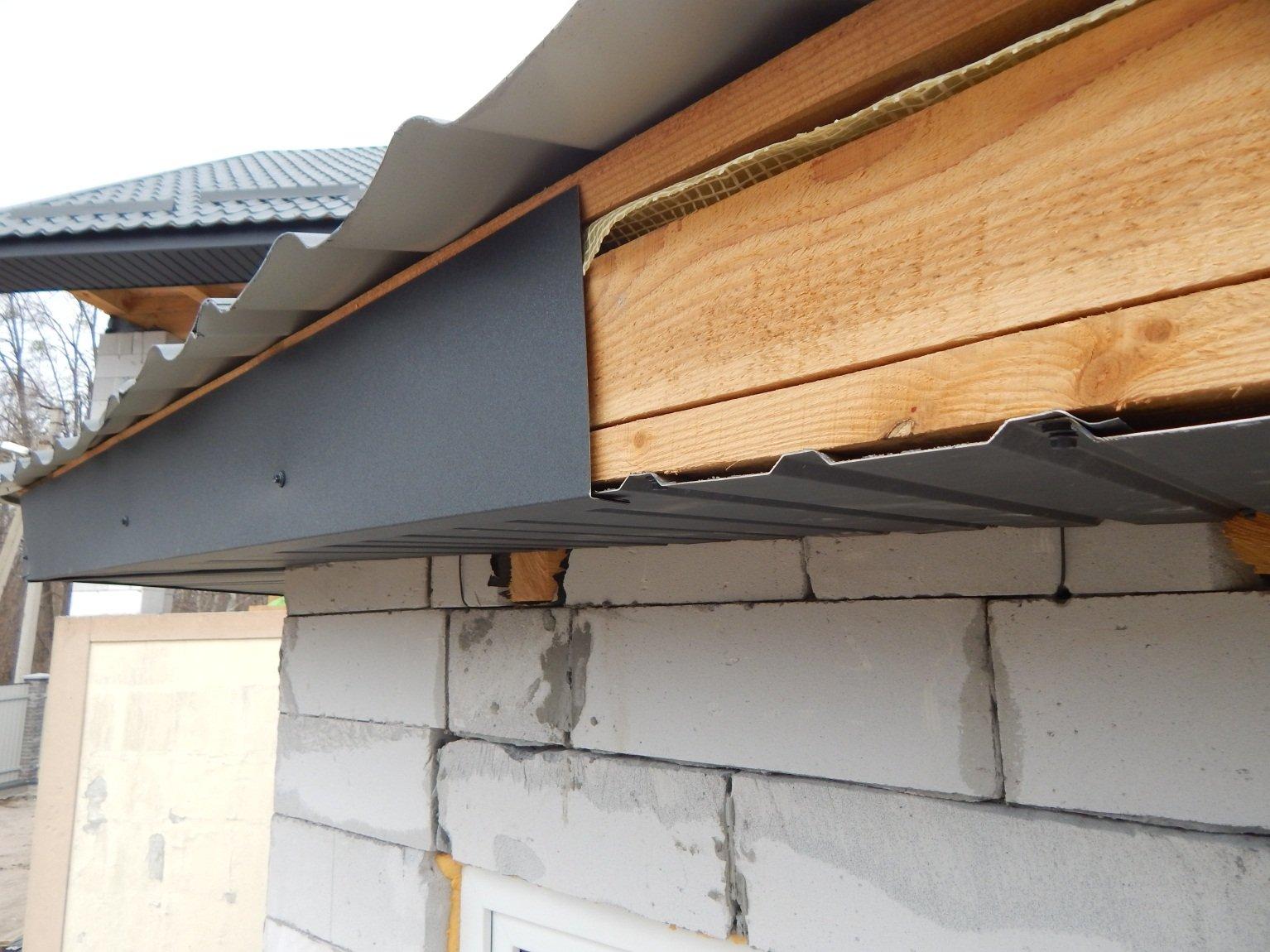 Подшивка карнизов крыши: инструкция, материалы, инструменты 93
