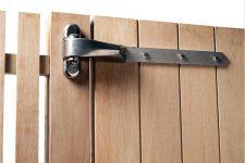 Как сделать деревянные ворота
