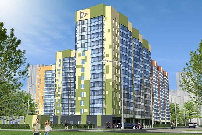 Новостройки строительной компании КВС в Санкт-Петербурге