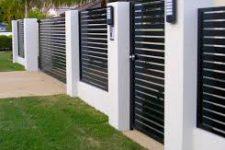 Забор. Ограждение частного дома