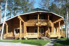 Деревянный дом и его достоинства