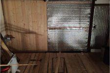 Обшивка ворот гаража
