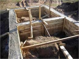 Небольшие хитрости при заливке фундамента бани
