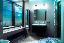 Наливной пол в ванной – сухо и красиво