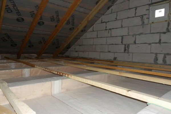 Пароизоляция для потолка