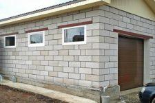Расчет количества блоков на гараж
