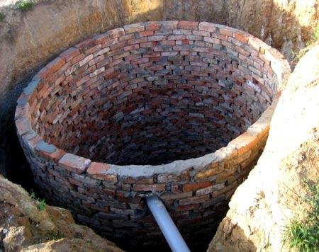Сливная яма для бани