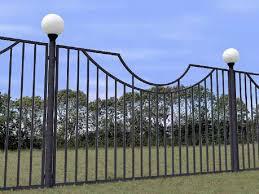 Забор из профильной трубы своими руками – инструкция