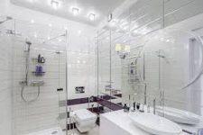 Маленькая ванная комната — как визуально увеличить ее