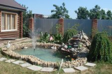 Как создать декоративный пруд на дачном участке
