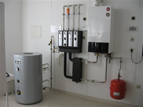Установка газового котла в частном доме