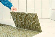 Особенности выбора плиточного клея
