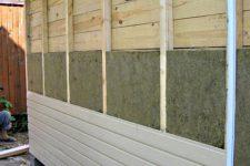 Теплоизоляция бревенчатого дома пенопластом
