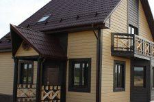 Подбор цвета крыши и фасада