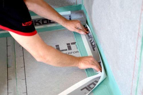 Оклеечная гидроизоляция для ванной комнаты под плитку