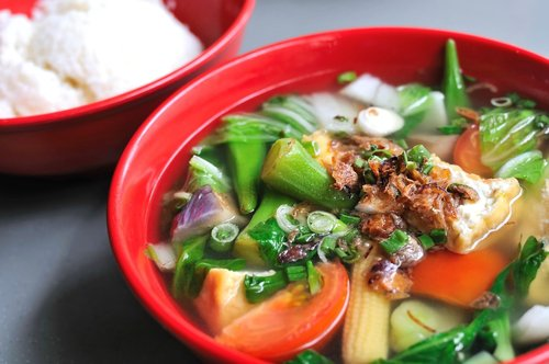 Японские блюда из овощей