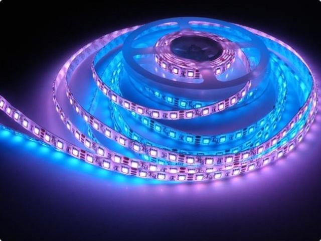 Виды светодиодных лент: яркость свечения