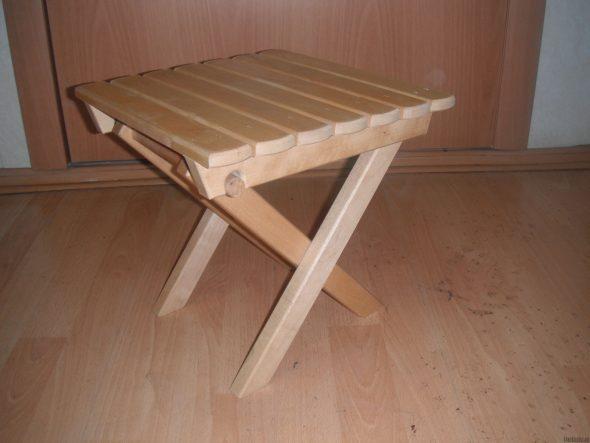 Изготовление складного стула