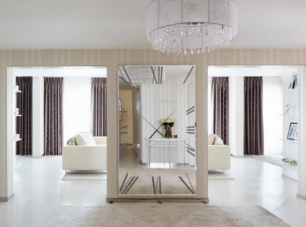 Зеркало в прихожей — звезда приветливого дома