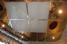 Потолок из пластиковых ПВХ панелей