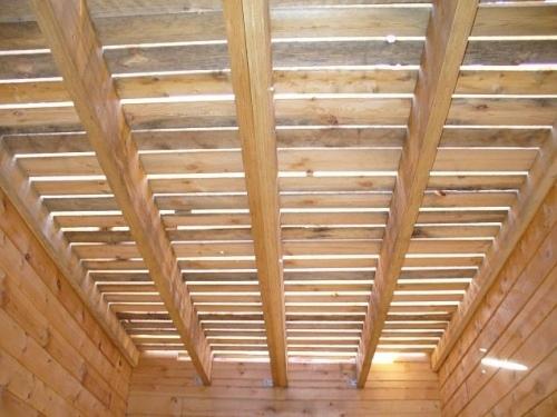 Усиление деревянного перекрытия