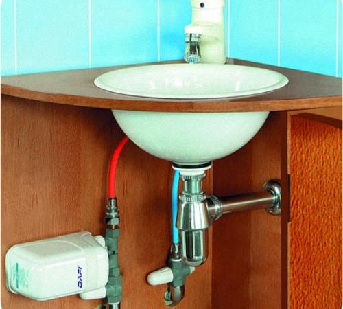 Монтаж напорного накопительного водонагревателя