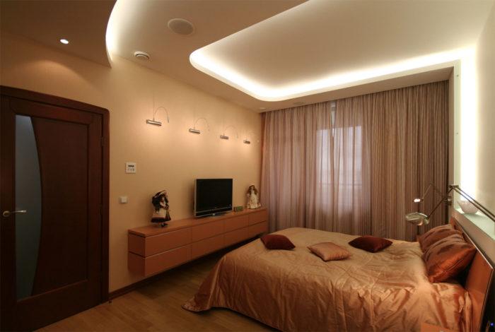 Светодиодная подсветка потолка своими руками