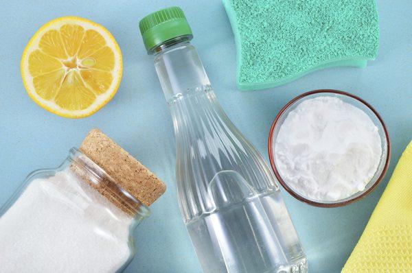 Безопасные чистящие средства для дома