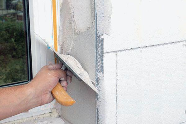Как правильно сделать откос окна
