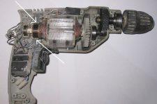 Ремонт электрической дрели