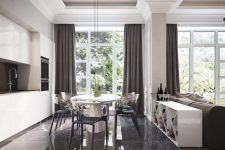 Современная мебель в современном доме